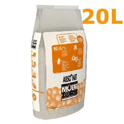 Multi zorb Oil absorbant granules 20Ltr bag Oil response oil spill granules