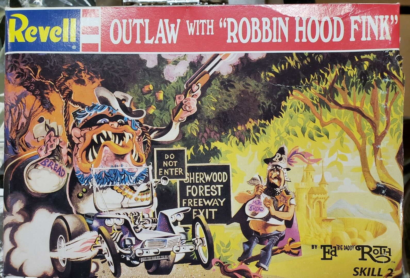 Revell Outlaw with  Robin Hood Fink  by Ed  Big Daddy  redh