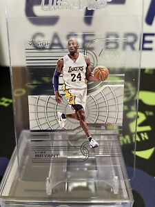 Kobe Bryant 2015-16 Clear Vision #7 LA Lakers Acetate Mamba - PSA 9.5/10 SHARP