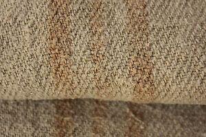 GRAINSACK-hemp-linen-grain-sack-RUSTIC-primitive-textile-old-caramel-ORGANIC