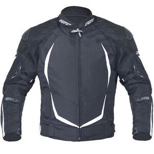 RST-Blade-2-II-Ladies-Textile-Waterproof-Motorcycle-Motorbike-Jacket-Black-White