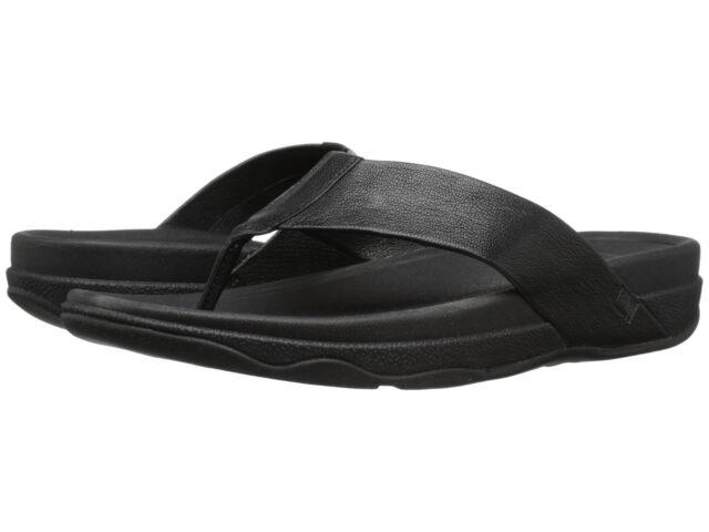 9924315b1 FitFlop 486 Mens Surfer Leather Flip Flops Flop- Choose Sz color. 12 ...