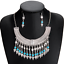 Bohemia-Women-Choker-Chunky-Statement-Bib-Alloy-Charm-Pendant-Necklace-Jewelry thumbnail 75