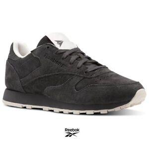 Reebok Classic Leather Tonal NBK Shoes Sneakers BS9881 Gray SZ 4-12.5