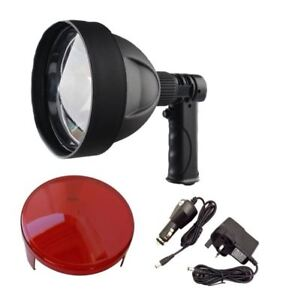 Sport-Light-150mm-Rechargeable-LED-Hunting-Shooting-Lamp-Free-Red-filter