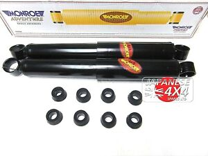 LAND ROVER DEFENDER MONROE ADVENTURE SHOCK ABSORBERS FOR 4X4 2X FRONT /& 2 REAR