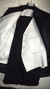 Pal-Zileri-Kollektion-Kleid-Gr-52-1390-00-Etikett-Weste-Wolle-Elegant