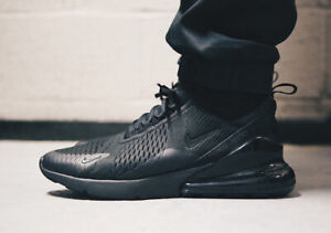 Details about Nike Air Max 270 Black Mens Trainers