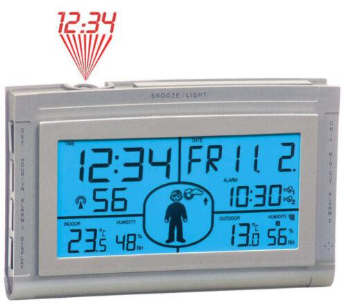 SONDERPOSTEN TECHNOLINE WS 9520 WETTER MAX FUNK-WETTERSTATION PROJEKTIONSUHR 433