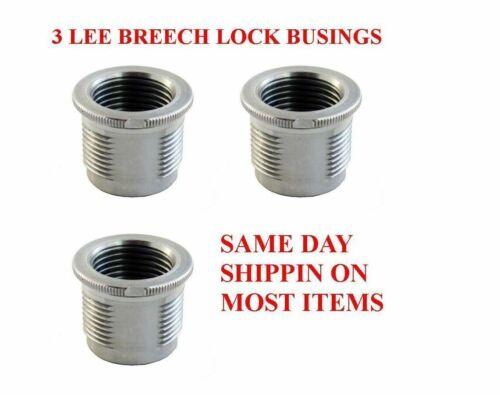 LEE Breech Lock Quick Change Bushings 90600 3 Pack SAME DAY SHIPPING