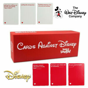 Cartes-contre-Disney-cartes-contre-l-039-humanite-ont-un-eclat-de-rire-Disney-rouge-edition