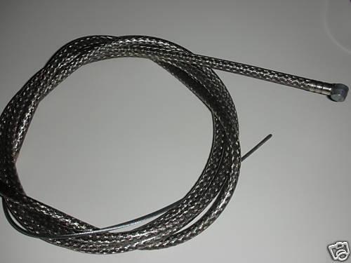 "NEW BIKE BICYCLE MTB 1 Brake Cable 68/"" 1 Double Sheath Housing 60/"" Braided"