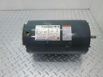 MARATHON ELECTRIC AC MOTOR LVK056C11T99001 B 1//2 HP 1 PH 1140 RPM 115//208-230V