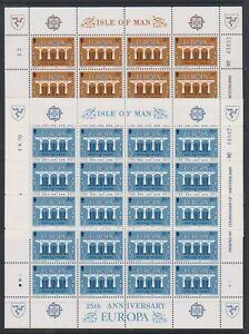 Isle-of-Man-1984-Europa-sheetlets-x-2-MNH-SG-265-6