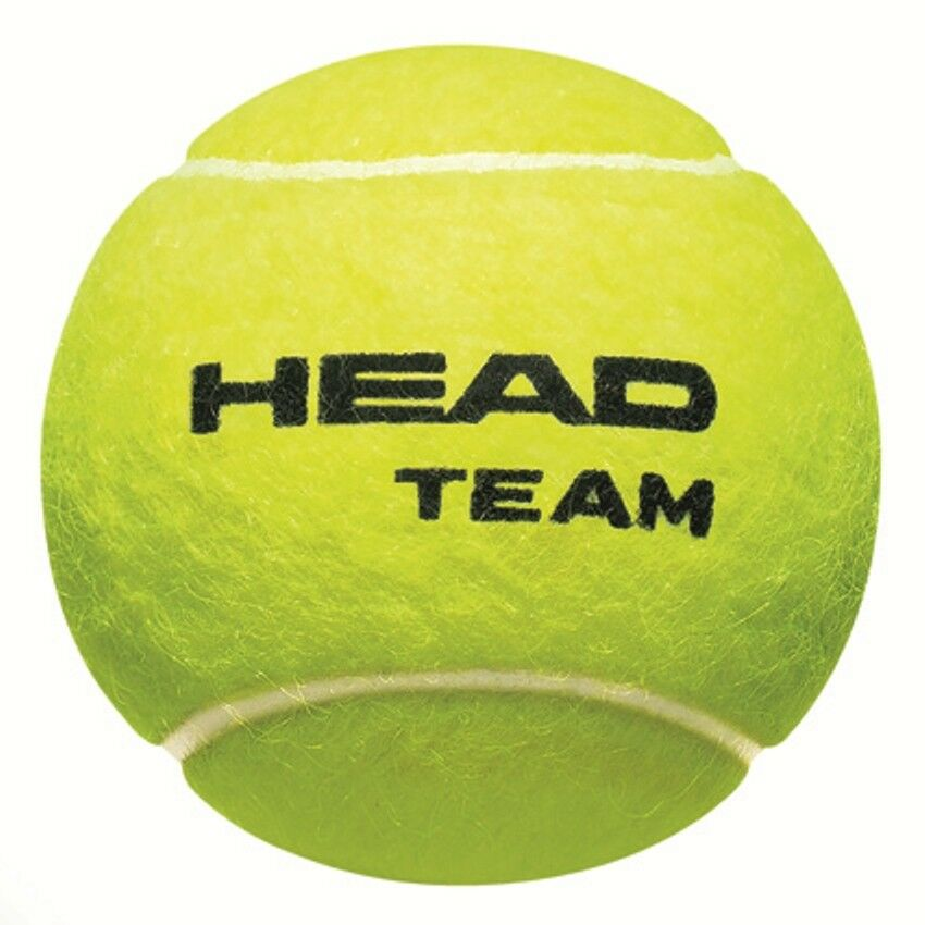 Head Team 2 x 72 72 72 palle da tennis 1807da