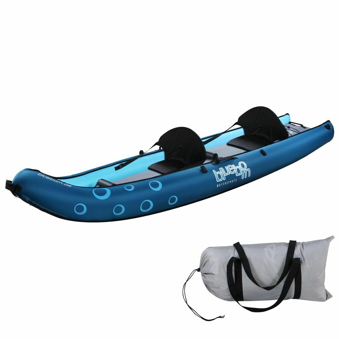 Boot Coasteer SRE300 Sit-On-Top Boot 300x88cm 1 pers. canoe kayak rowing bluee