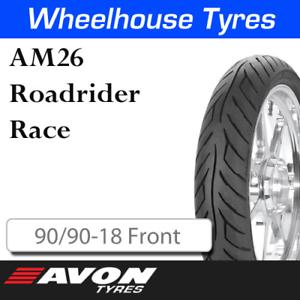 Avon AM26 Roadrider Race 90//90-18 Front 13984C N.H.S.