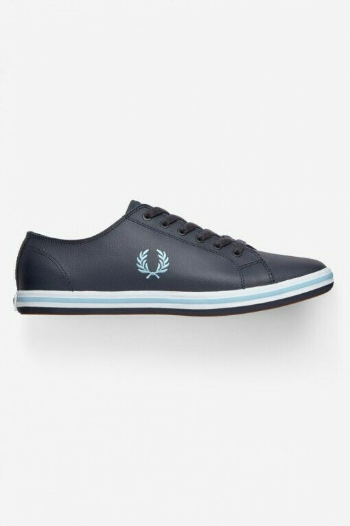 Frot Perry Trainers - Kingston - Navy Leather - B7163U - 608