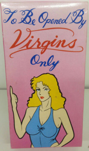 To Be opened By Virgins Only Funny Gag Birthday Gift