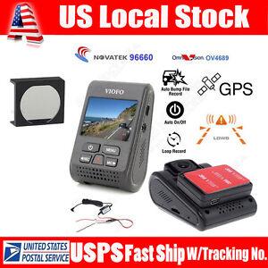 VIOFO A119 V2 Vehicle 1080P Car Dash Camera Recorder +GPS Logger +Hard Wire+CPL