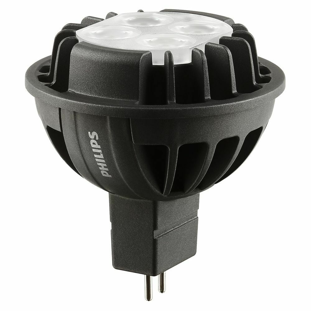 10X Philips Master LED MR16 (GU5.3) 400lumen 7W DIMMABLE 4000K RETROFIT COOL 12V