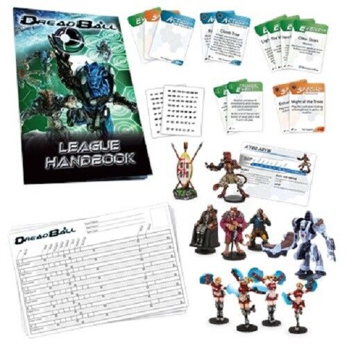 DREADBALL 2 GALACTIC TOUR EXPANSION - MANTIC GAMES - NOW