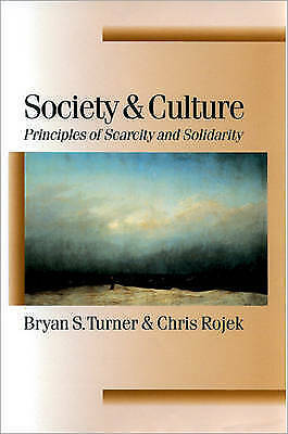 1 of 1 - Society and Culture: Scarcity and Solidarity (Published in association with Theo