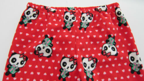 OshKosh girls red panda bear Pyjamas  12 18 24 Months 2 3 4 5 6  8 10 YRS NEW!