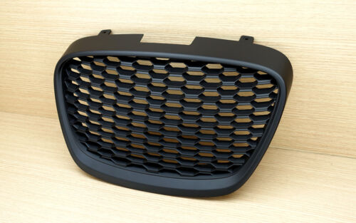 2009-2012 frontal Rejilla Para Seat Leon MK2 1P Mate Negro LCI Facelift Hatchback