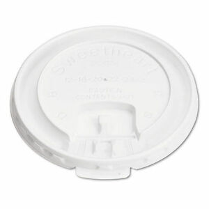 New ! 1000PK Solo Lift Back & Lock Tab Cup Lids for Foam Cups SLOLB3101