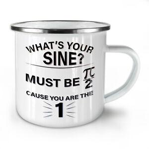 Sine Math Formula NEW Enamel Tea Mug 10 oz | Wellcoda