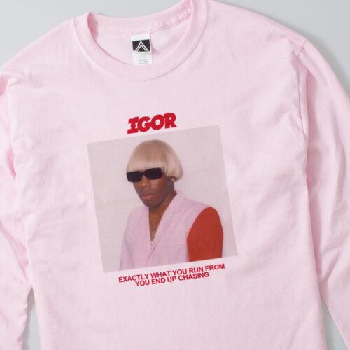 IGOR Tyler Lyrics Long Sleeve T Shirt Creator Cherry Bomb Future Kill Fleur Tee