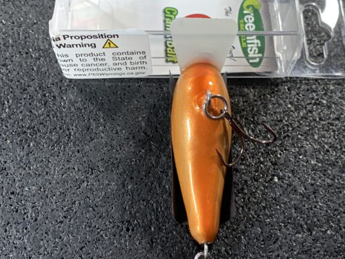 Greenfish Tackle-G2-Custom Balsa squarebill Crankbait-NEW PENNY couleur