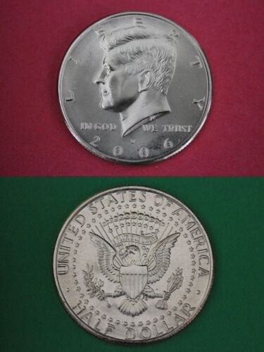 2006 D John Kennedy Half Dollar Uncirculated From Mint Set Combined Shipping