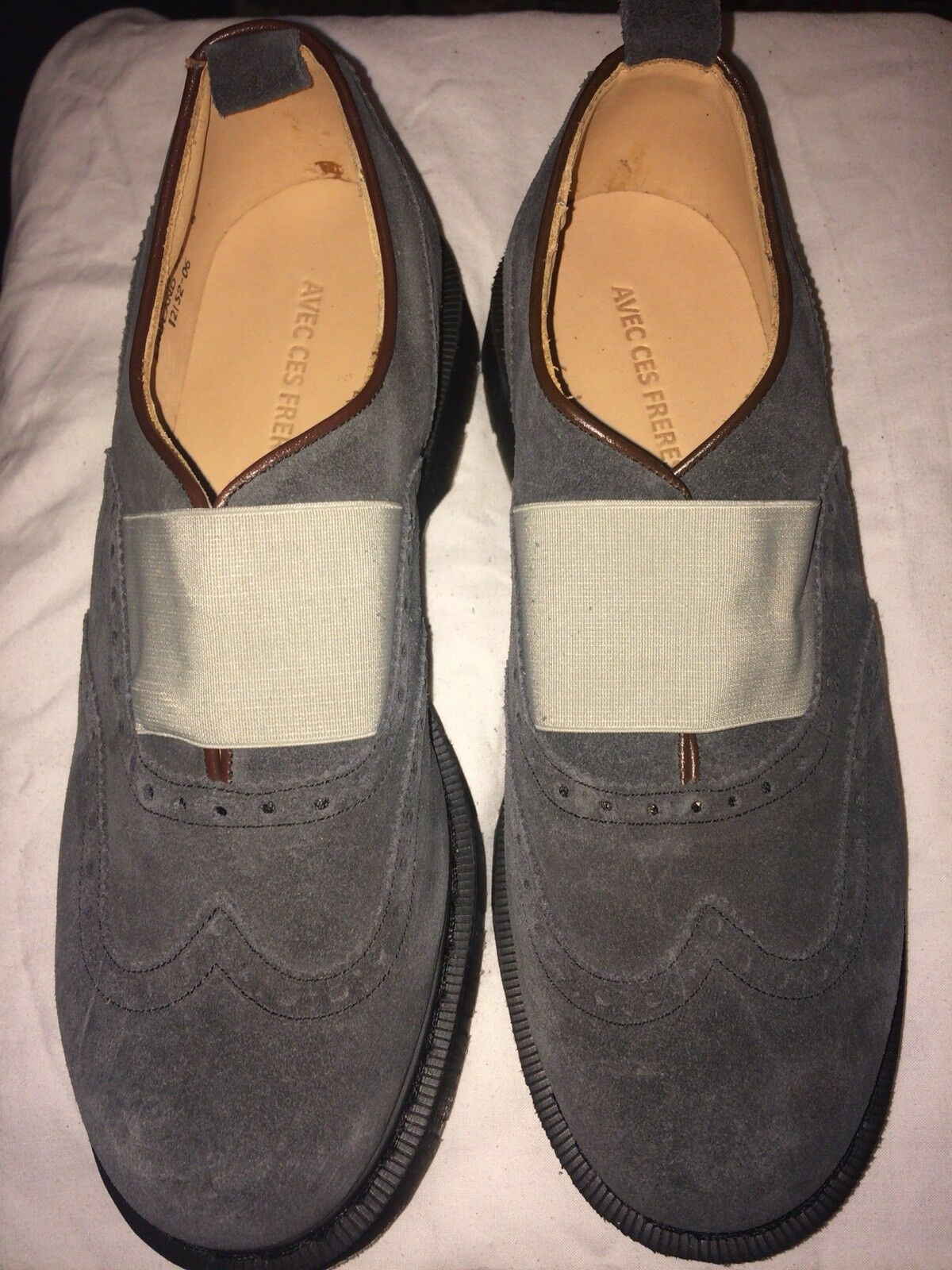 Men's Brand New Solovair leather shoes size 9