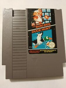 NINTENDO-NES-Super-Mario-Bros-Duck-Hunt-Cartouche-Seule-Tres-Bon-Etat