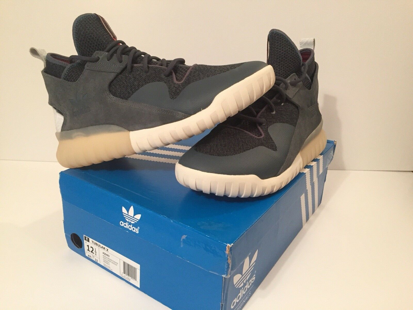 Lightly used Adidas Originals Tubular X BOONIX/Owhite Comfortable Cheap women's shoes women's shoes