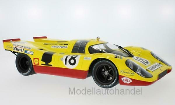 PORSCHE 917K – AAW RACING LE MANS 24 HRS 1970  1 12 Minichamps 125706618  NEW
