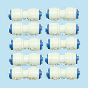 10-x-6mm-1-4-034-Straight-Connectors-for-Water-Filters-RO