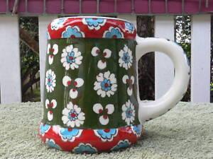 Colourful-Turkish-handmade-ceramic-large-beer-stein-beer-mug-Made-in-Turkey