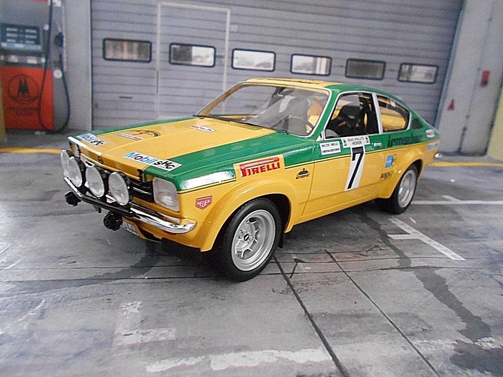 descuento C C C Opel Kadett GT E rally Hessen rally DRM 1975  7 smolej irmscher bos sp 1 18  wholesape barato