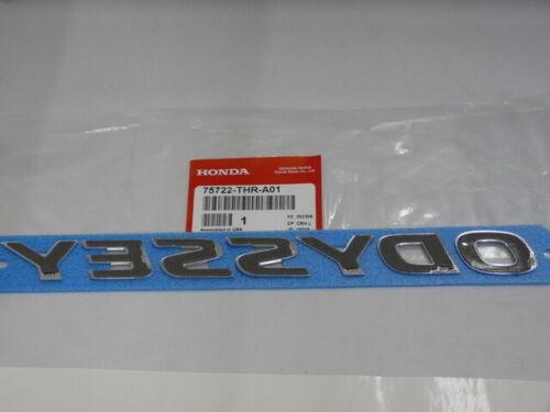 Emblem Nameplate 75722-THR-A01 Genuine Honda Odyssey