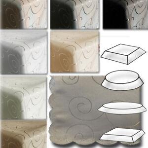 tischdecke tischl ufer ornamenten tafeldecke tisch decke tischdecken stoff edel ebay. Black Bedroom Furniture Sets. Home Design Ideas