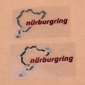 Nuerburgring-Karte-Funny-Sticker-Aufkleber-Track-Umriss-Autofenster-Wand-Laptop