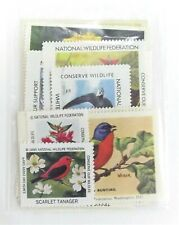 Junk Journal Ephemera Vintage Wildlife Stamps Craft Card Making Asst 16 Pcs