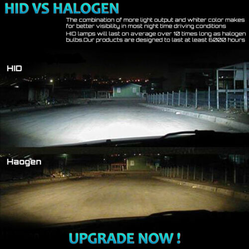 Aftermarket Headlights 55W Slim HID Xenon Conversion Kit Super Bright High Power