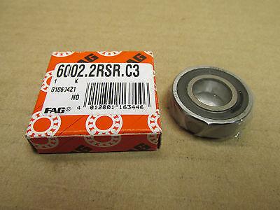 3 pcs FAG 60002RSC3 BEARING RUBBER SEALS 10x26x8 mm 6000-C-2HRS-L038 C3 6000-RS