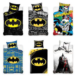 Batman-Linge-de-lit-pour-Enfants-bebe-140x200-160x200-cm