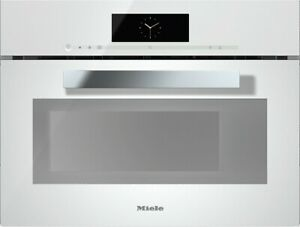Miele DGM 6800 Brilliant White Steam Oven with Microwave