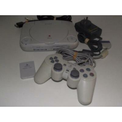 Playstation 1 PS1 PSone Console + Dual Shock Controller PAL